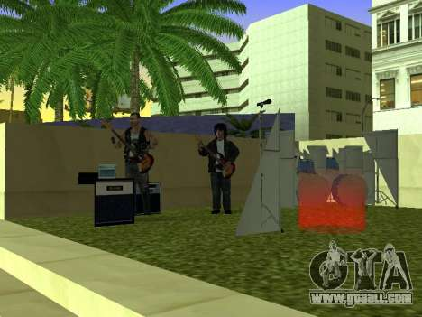 The concert Film for GTA San Andreas third screenshot