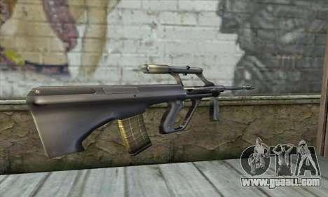 AUG из Counter Strike for GTA San Andreas second screenshot