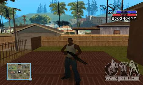 C-HUD by NickQuest for GTA San Andreas