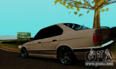 BMW 525 Re-Styling for GTA San Andreas left view
