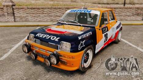 Renault 5 Maxi Turbo for GTA 4
