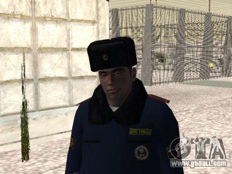 Pak police officers in the winter uniforms for GTA San Andreas third screenshot