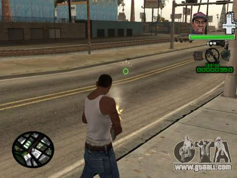 C-HUD by Tyler for GTA San Andreas