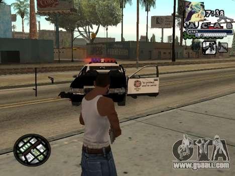 C-Hud Woozie Tawer for GTA San Andreas second screenshot