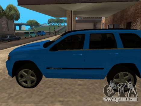 Jeep Grand Cherokee SRT8 Restyling M for GTA San Andreas left view