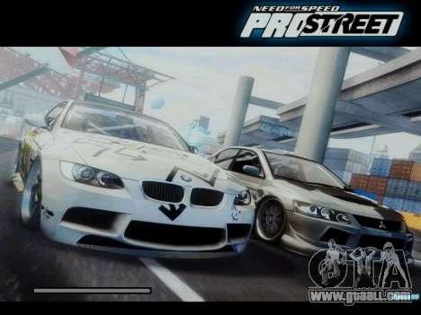 Loading Screens NFS for GTA San Andreas