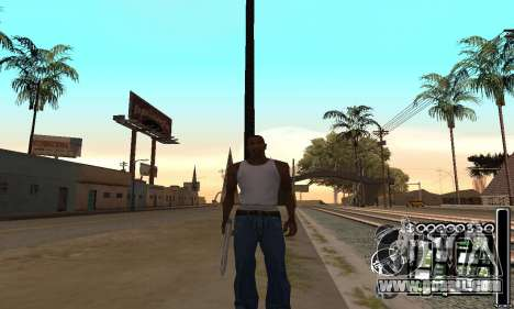 C-HuD Black White for GTA San Andreas