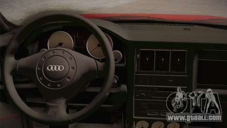 Audi 80 B4 RS2 for GTA San Andreas back view