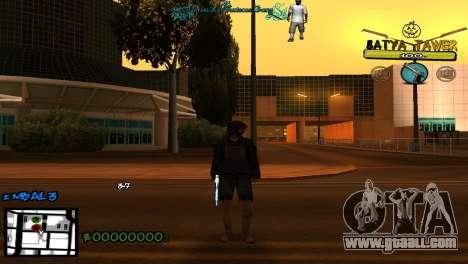 C-Hud by Baton Batya for GTA San Andreas second screenshot