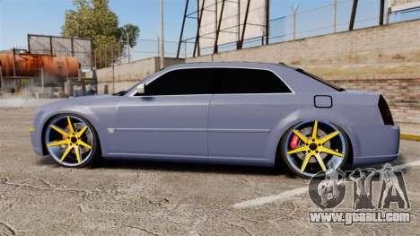 Chrysler 300C SRT8 for GTA 4 left view