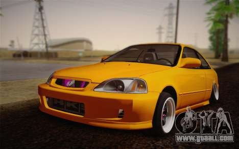 Honda Civic 1999 Si for GTA San Andreas