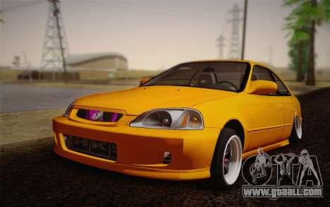 Honda Civic 1999 Si for GTA San Andreas