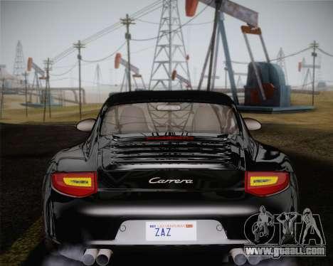 Porsche 911 Carrera for GTA San Andreas interior