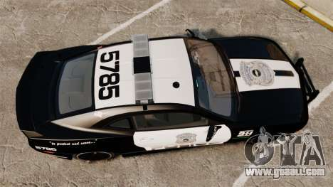 Chevrolet Camaro Police [ELS-EPM] for GTA 4 right view
