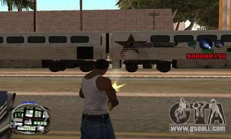 C-HUD (LSPD) for GTA San Andreas second screenshot