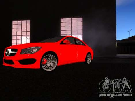 Mercedes-Benz CLA 250 for GTA San Andreas left view