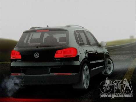 Volkswagen Tiguan 2012 for GTA San Andreas left view