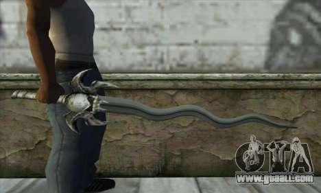 Soul Reaver Sword for GTA San Andreas third screenshot