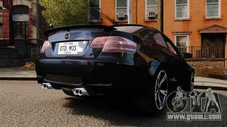 BMW M3 E92 AC Schnitzer ACS3-Sport for GTA 4 back left view