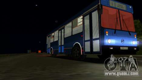 LIAZ-5256 for GTA Vice City side view