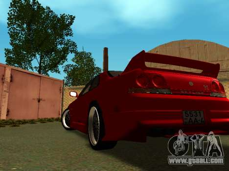 Nissan Skyline R33 GT-R V-Spec for GTA San Andreas left view