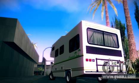 GTA V Camper for GTA San Andreas left view