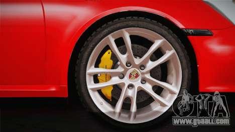 Porsche 911 Carrera for GTA San Andreas right view