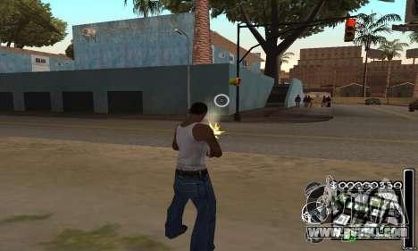 C-HuD Black White for GTA San Andreas third screenshot