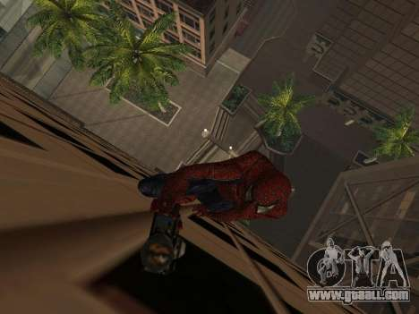 Spider-man for GTA San Andreas second screenshot