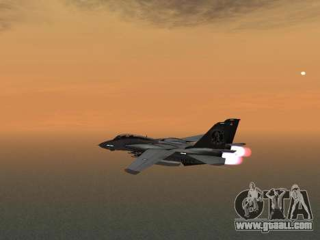 F-14 Tomcat HQ for GTA San Andreas back view