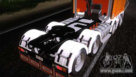 Freightliner Argosy 8x4 for GTA San Andreas right view