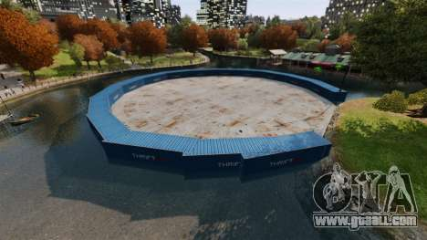 Open arena for fighting vehicles v2.0 for GTA 4