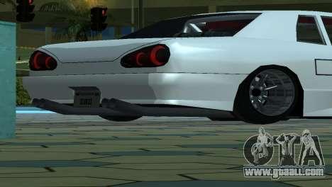 Elegy 280sx v2.0 for GTA San Andreas wheels