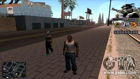C-Hud Eazy-E for GTA San Andreas