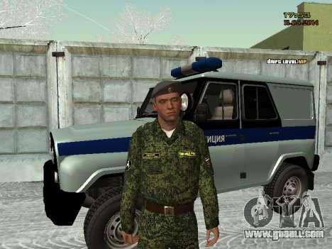 Skin fighter MIA for GTA San Andreas