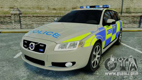 Volvo V70 Metropolitan Police [ELS] for GTA 4