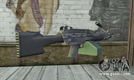 M16 из Postal 3 for GTA San Andreas second screenshot