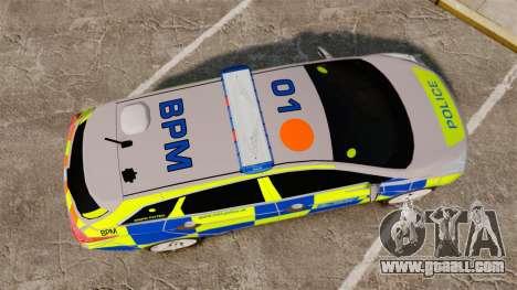 Hyundai i40 2013 Metropolitan Police [ELS] for GTA 4 right view