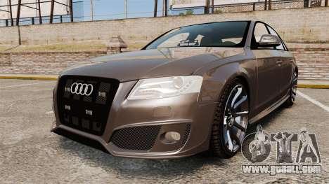 Audi S4 2013 Unmarked Police [ELS] for GTA 4