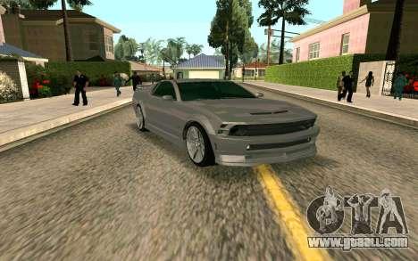 GTA V Vapid Dominator for GTA San Andreas left view