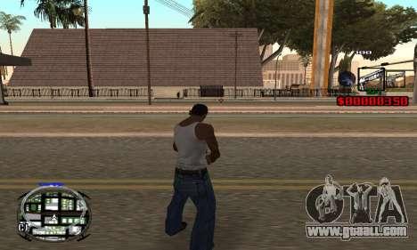 C-HUD (LSPD) for GTA San Andreas third screenshot