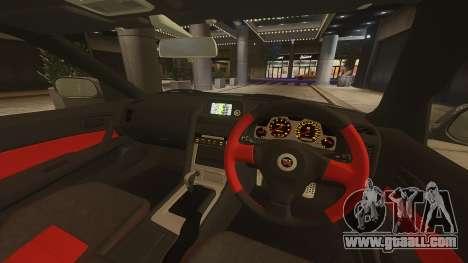 Nissan Skyline GTR-34 Nismo Z-Tune for GTA 4 back view