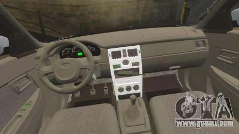 VAZ-2170 Police for GTA 4 side view