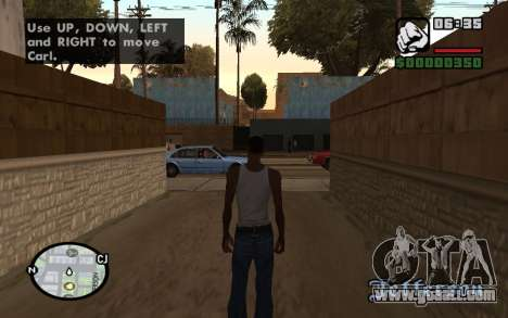 HQ Radar by Rockstar for GTA San Andreas second screenshot