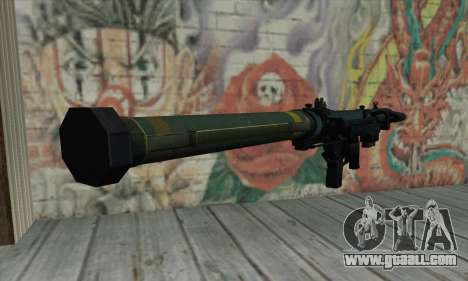 SMAW of BF3 for GTA San Andreas second screenshot
