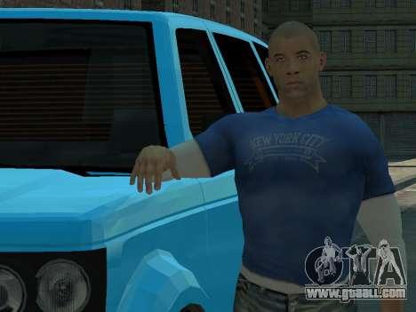Vin Diesel Wheelman for GTA 4 third screenshot