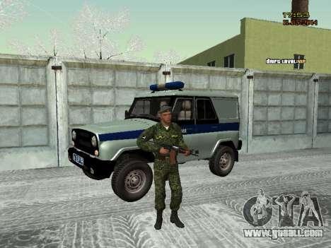 Skin fighter MIA for GTA San Andreas second screenshot