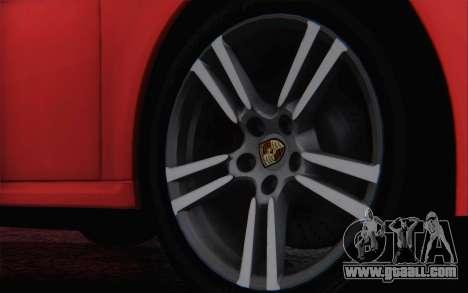 Porsche 911 Turbo for GTA San Andreas upper view