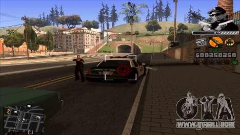 C-Hud Eazy-E for GTA San Andreas third screenshot