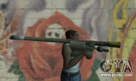 Missile launcher for GTA San Andreas third screenshot